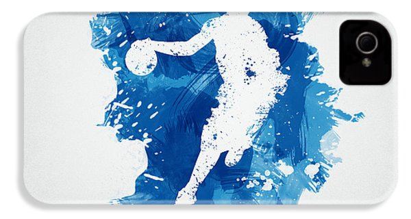 Basketball Player IPhone 4 Case by Aged Pixel