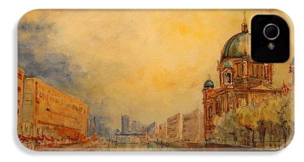 Berlin IPhone 4 Case by Juan  Bosco