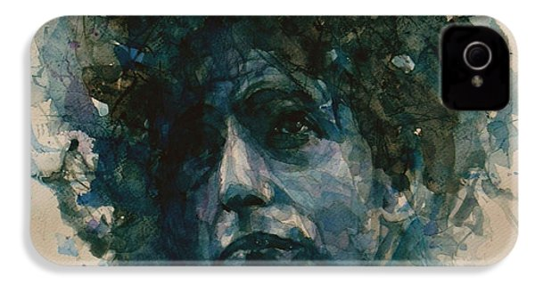 Bob Dylan IPhone 4 Case by Paul Lovering
