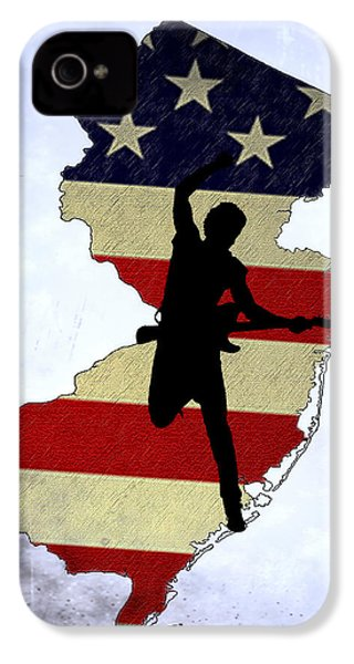 Born In New Jersey IPhone 4 / 4s Case by Bill Cannon