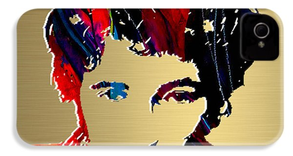 Bruce Springsteen Gold Series IPhone 4 / 4s Case by Marvin Blaine