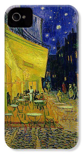Cafe Terrace Arles IPhone 4 Case
