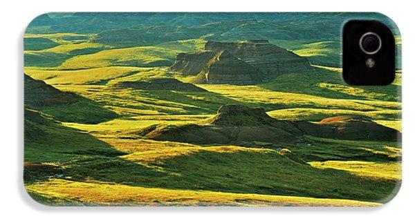 Canada, Saskatchewan, Grasslands IPhone 4 Case by Jaynes Gallery