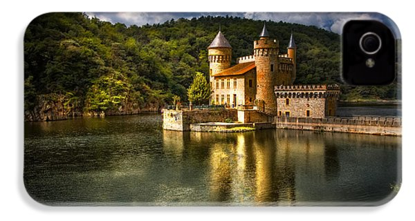 Chateau De La Roche IPhone 4 Case by Debra and Dave Vanderlaan