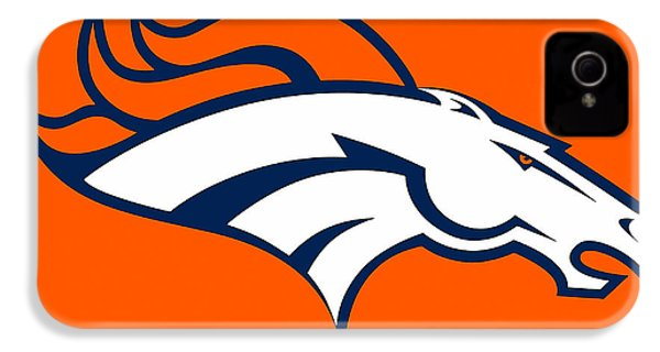 Denver Broncos IPhone 4 / 4s Case by Marvin Blaine