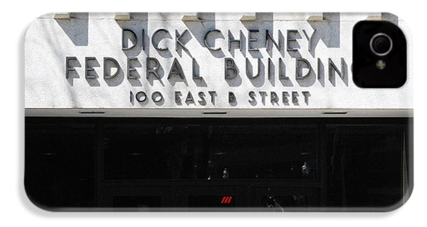 Dick Cheney Federal Bldg. IPhone 4 / 4s Case by Oscar Williams