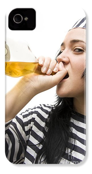 Drinking Detainee IPhone 4 Case by Jorgo Photography - Wall Art Gallery
