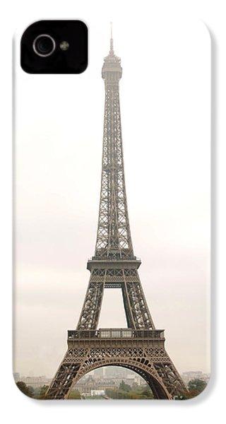 Eiffel Tower IPhone 4 Case by Elena Elisseeva