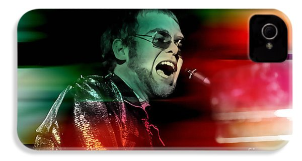Elton John IPhone 4 / 4s Case by Marvin Blaine