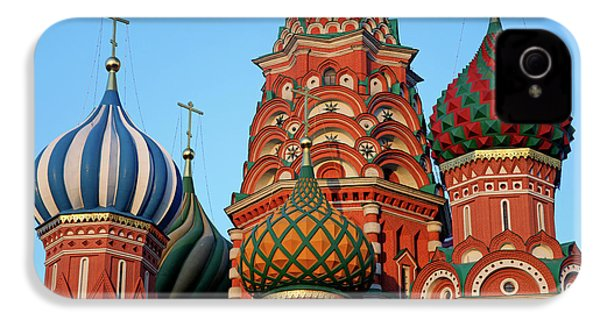 Europe, Russia, Moscow IPhone 4 Case by Kymri Wilt