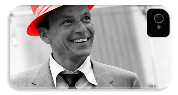Frank Sinatra IPhone 4 / 4s Case by Marvin Blaine