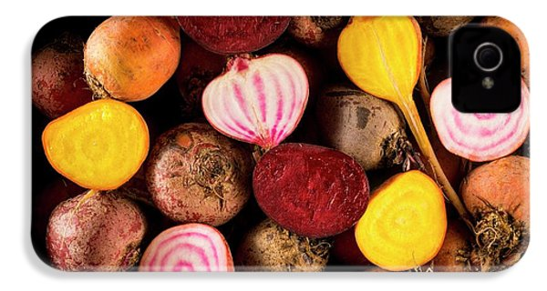 Fresh Beetroot And Red Onions IPhone 4 Case by Aberration Films Ltd