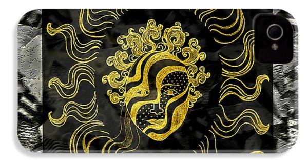 Golden God IPhone 4 Case by Nareeta Martin
