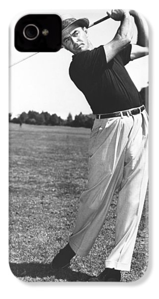 Golfer Sam Snead IPhone 4 Case by Underwood Archives
