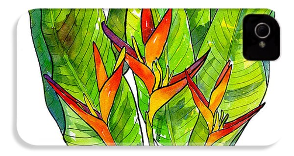 Heliconia IPhone 4 Case