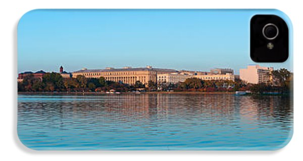 Jefferson Memorial And Washington IPhone 4 Case by Panoramic Images