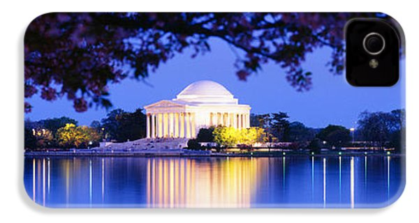 Jefferson Memorial, Washington Dc IPhone 4 / 4s Case by Panoramic Images
