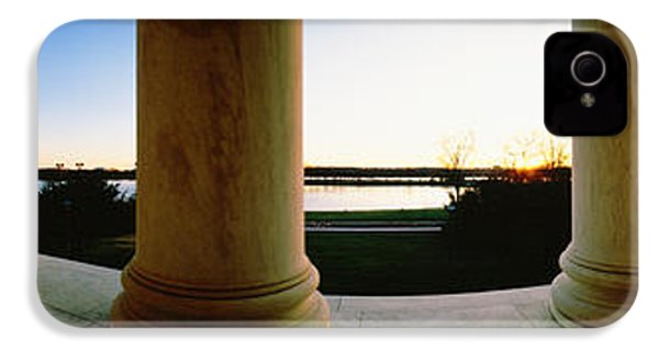 Jefferson Memorial Washington Dc Usa IPhone 4 / 4s Case by Panoramic Images
