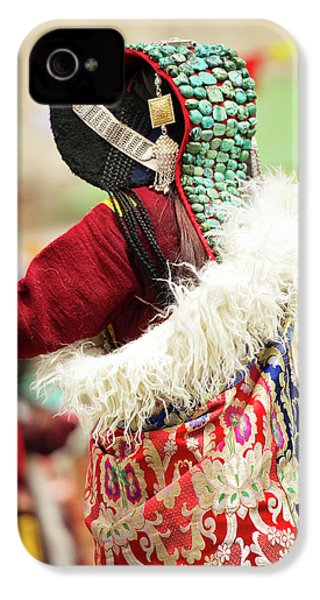 Ladakh, India Married Ladakhi Women IPhone 4 Case by Jaina Mishra