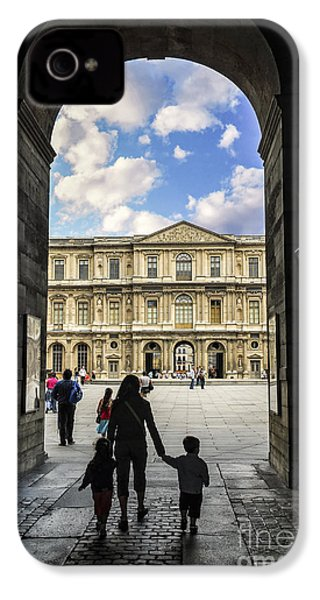 Louvre IPhone 4 Case by Elena Elisseeva