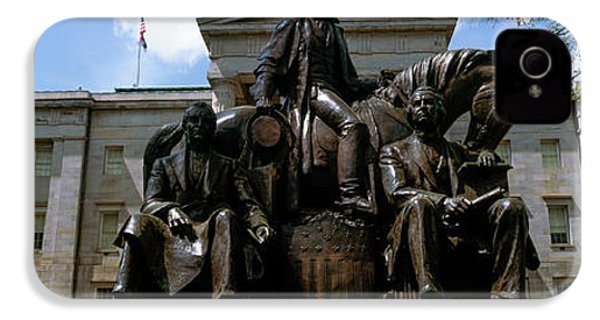 Low Angle View Of Statue IPhone 4 Case by Panoramic Images