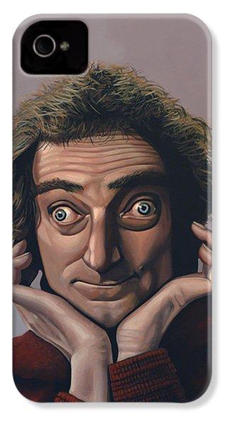 Marty Feldman IPhone 4 Case by Paul Meijering