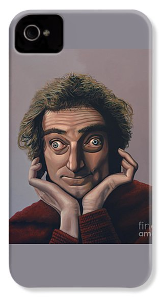 Marty Feldman IPhone 4 / 4s Case by Paul Meijering