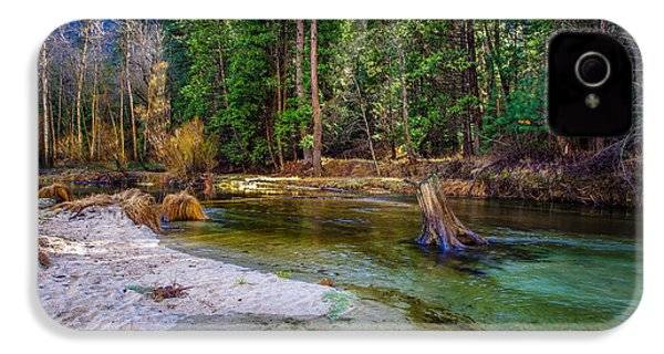 Merced River Yosemite National Park IPhone 4 Case by Scott McGuire