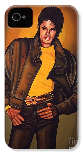 Michael Jackson IPhone 4 / 4s Case by Paul Meijering