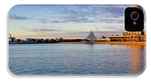 IPhone 4 Case featuring the photograph Milwaukee At Sunrise by Ricky L Jones