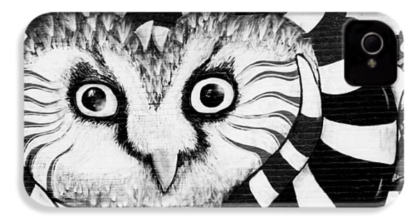 IPhone 4 Case featuring the photograph Owl Mural by Ricky L Jones