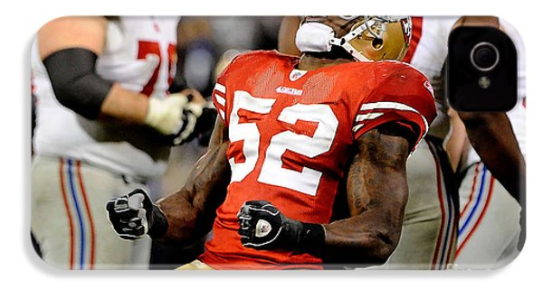 Patrick Willis IPhone 4 / 4s Case by Marvin Blaine