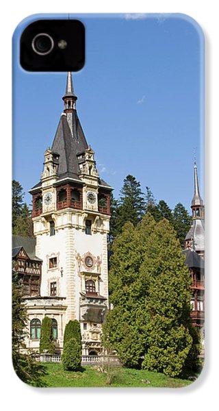 Peles Castle, Sinaia, Carpathian IPhone 4 Case by Martin Zwick