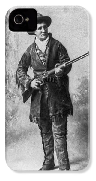 Portrait Of Calamity Jane IPhone 4 Case by Underwood Archives
