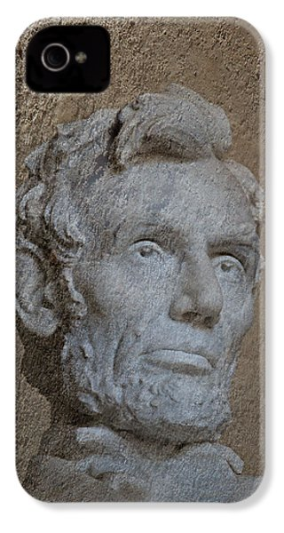 President Lincoln IPhone 4 / 4s Case by Skip Willits