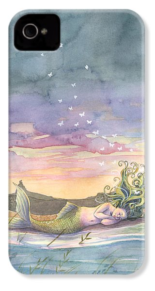 Rest On The Horizon IPhone 4 / 4s Case by Sara Burrier