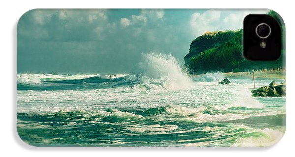 Stormy Sea IPhone 4 Case by Silvia Ganora