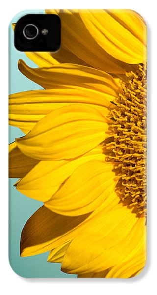 Sunflower IPhone 4 Case by Mark Ashkenazi