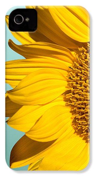 Sunflower IPhone 4 Case by Mark Ashkenazi
