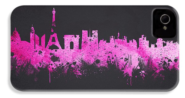 The City Of Love IPhone 4 Case by Aged Pixel