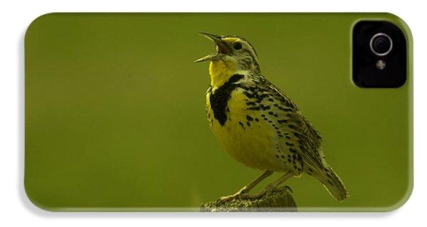 The Meadowlark Sings IPhone 4 / 4s Case by Jeff Swan