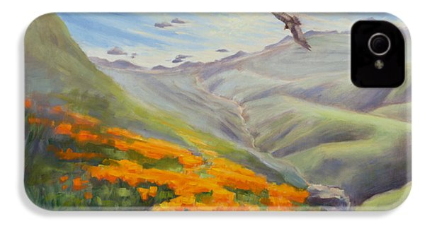 Through The Eyes Of The Condor IPhone 4 Case by Karin  Leonard