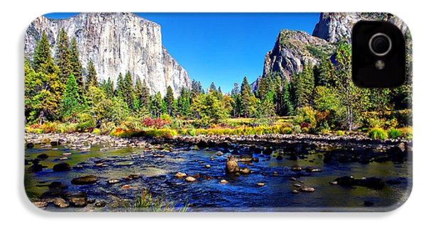 Valley View Yosemite National Park IPhone 4 / 4s Case by Scott McGuire