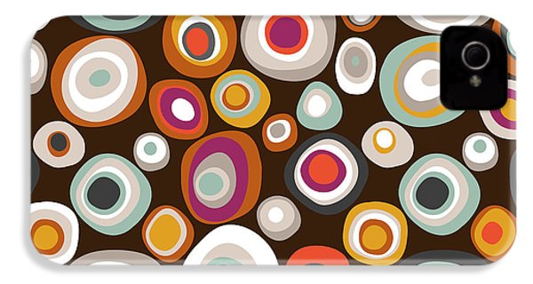 Veneto Boho Spot Chocolate IPhone 4 / 4s Case by Sharon Turner