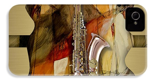 Saxophone Collection IPhone 4 Case