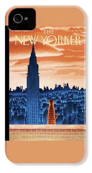 New Yorker January 12th, 2009 IPhone 4 Case