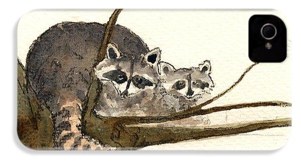Raccoon IPhone 4 Case