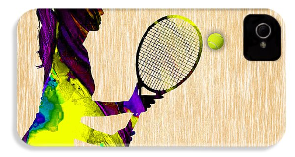 Tennis IPhone 4 Case by Marvin Blaine