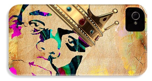 Biggie Collection IPhone 4 Case by Marvin Blaine