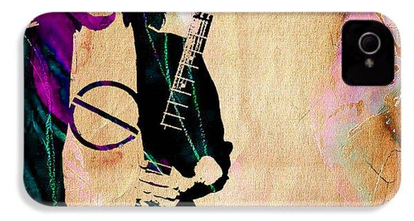 Eddie Van Halen Collection IPhone 4 Case by Marvin Blaine